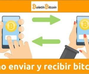 Cómo enviar y recibir bitcoins