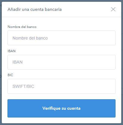 añadir una cuenta bancaria en coinbase para comprar bitcoins