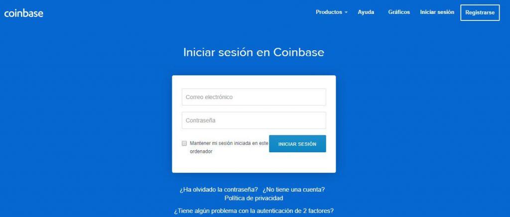 Cómo abrir una cuenta en Coinbase