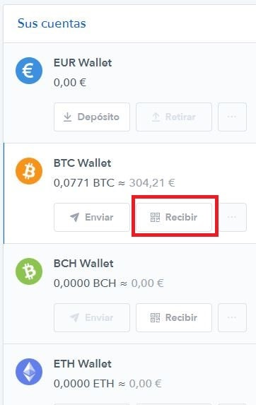 Billetera Coinbase Recibir Bitcoins