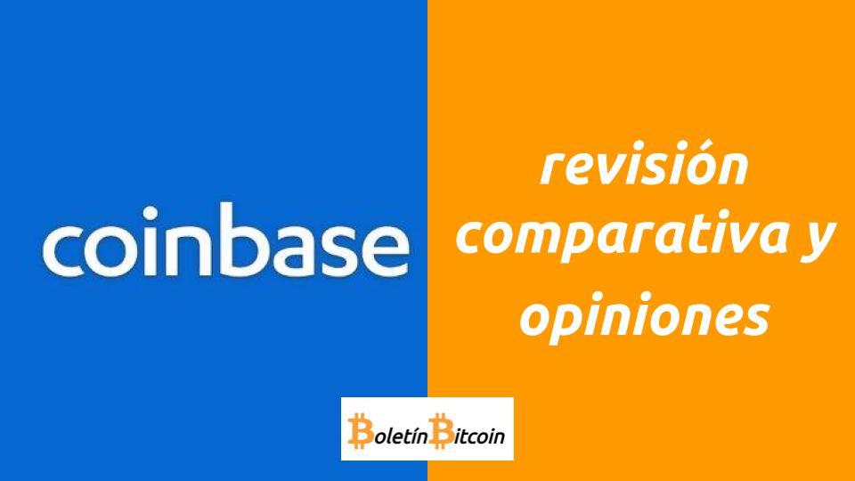 Revisión Coinbase opiniones