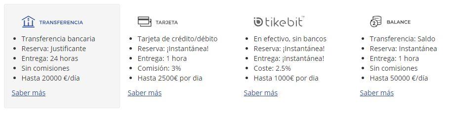 Como comprar ethers con transferencia bancaria en bit2me