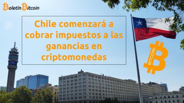 Chile gravará impuestos a las ganancias en bitcoin y criptomonedas