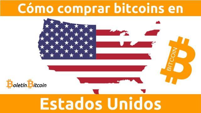 cómo comprar bitcoins en estados unidos