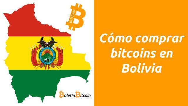 como comprar bitcoins en bolivia