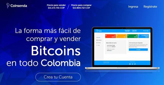 como comprar bitcoins en colombia en coinsenda y punto de pago