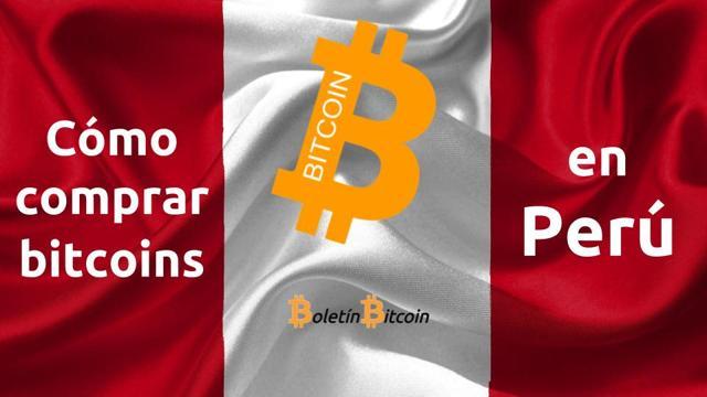 como comprar bitcoins en peru