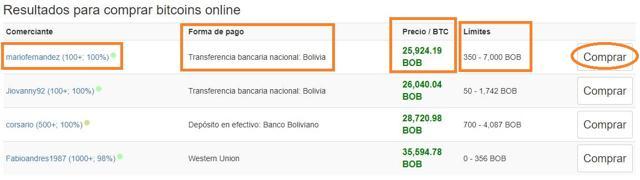 donde comprar bitcoins en bolivia localbitcoins