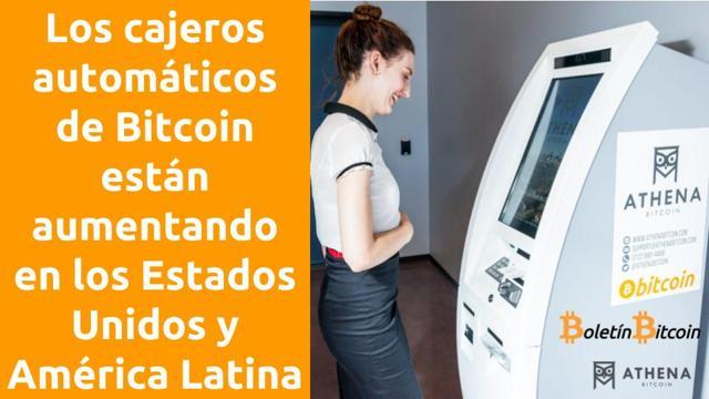 cajeros bitcoin en amércia latina