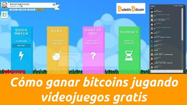 como ganar bitcoins jugando videojuegos gratis