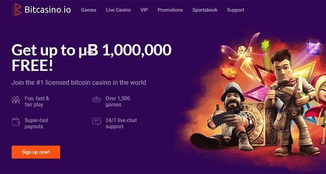 ganar bitcoins rápidamente en bitcasino.io