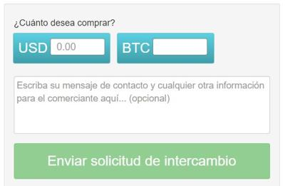 solicitud de intercambio localbitcoins el salvador