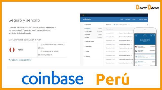 Coinbase Perú Opiniones 2019