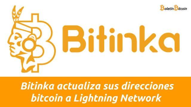 bitinka actualiza direcciones bitcoin a lightning network