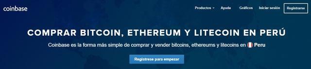Coinbase Perú abrir cuenta