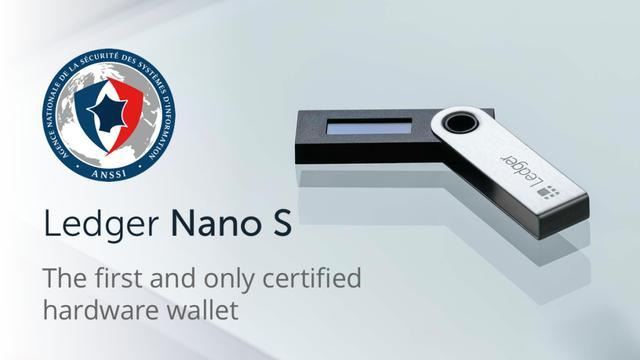 Ledger Nano S: primer monedero de hardware en obtener un certificado de seguridad