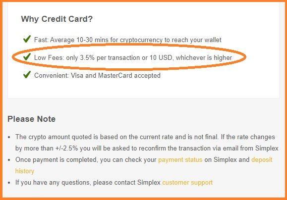 Comisiones por comprar bitcoins con tarjeta de crédito en Binance.com