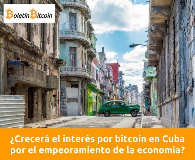 ¿Crecerá el interés por bitcoin en Cuba por el empeoramiento de la economía?