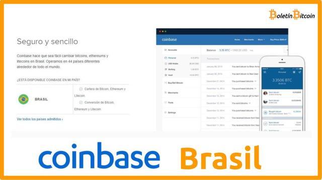 Coinbase Brasil, qué es, cómo funciona y opiniones 2019