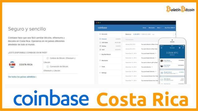 Coinbase Costa Rica opiniones 2019