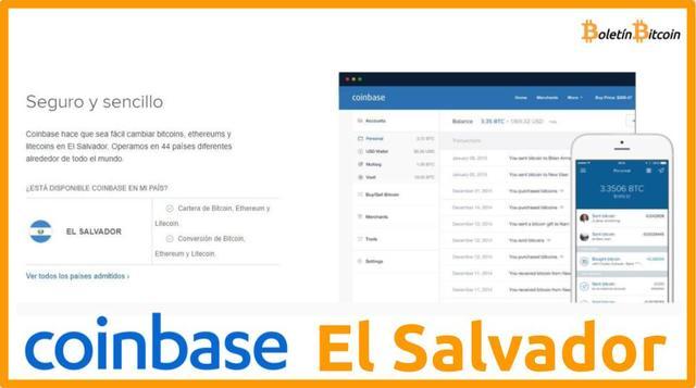 Coinbase El Salvador