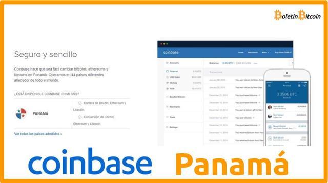 Coinbase Panamá, qué es, cómo funciona y opiniones 2019