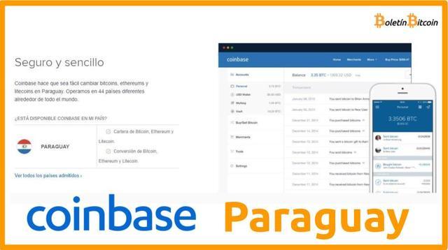 Coinbase Paraguay