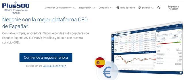Cómo abrir una cuenta en Plus500 para comprar bitcoins e invertir en criptomonedas mediante CFDs