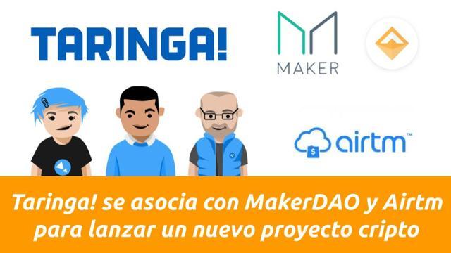 Taringa! se asocia con MakerDAO y Airtm para lanzar un nuevo proyecto cripto
