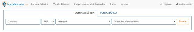como comprar bitcoins en portugal en localbitcoins