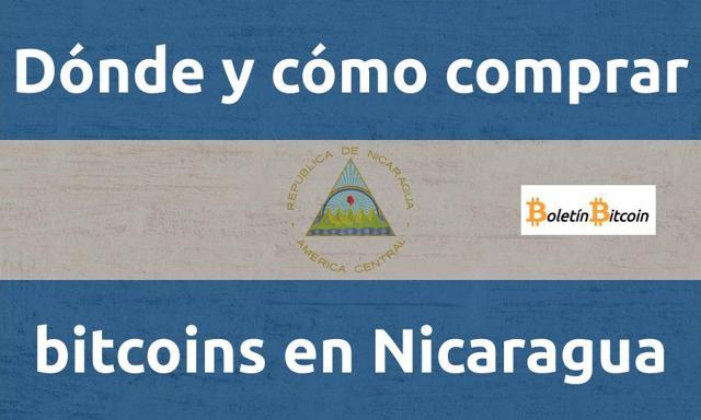 Cómo comprar bitcoins en Nicaragua