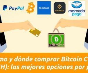 Dónde y cómo comprar Bitcoin Cash