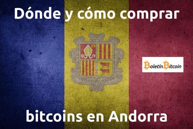 Dónde y cómo comprar bitcoins en Andorra