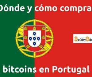 Dónde y cómo comprar bitcoins en Portugal