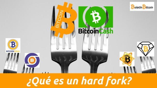 Qué es un hard fork de bitcoin