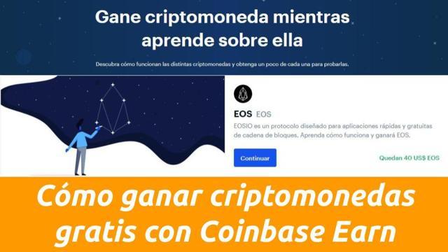 como ganar criptomonedas gratis coinbase earn