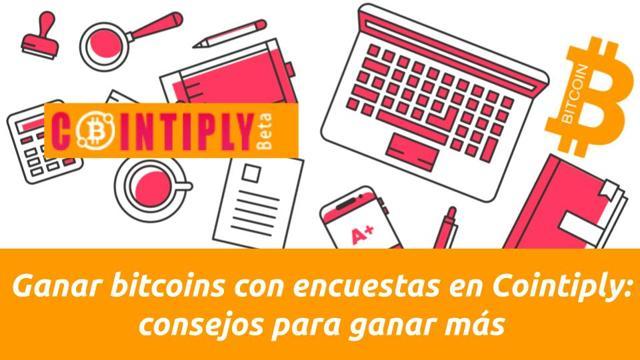 ganar bitcoins con encuestas
