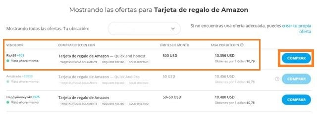 como comprar bitcoins con amazon giftcards en paxful