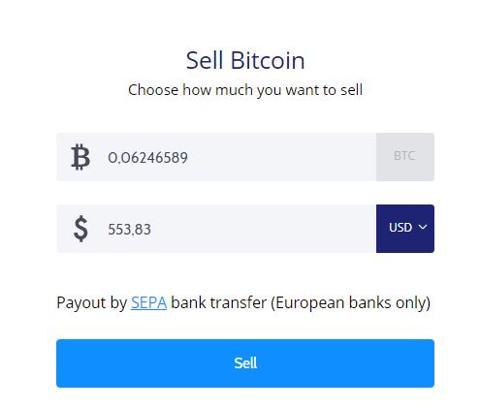 como vender bitcoins en coinmama