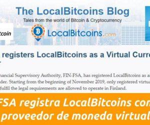 localbitcoins registrado oficialmente proveedor moneda virtual finlandia