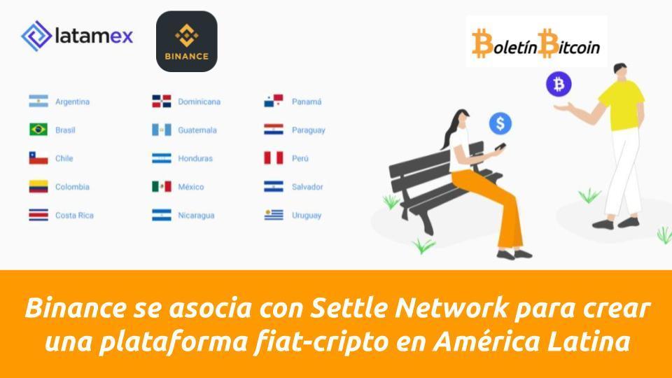 Latamex nuevo intercambio fiat a criptomoneda de binance para america latina