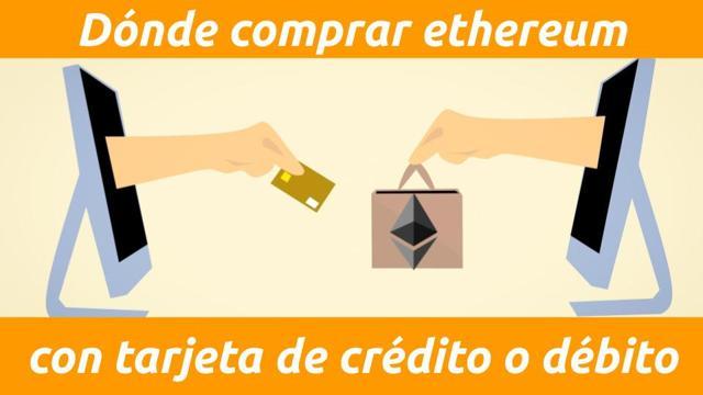 como comprar ethereum con tarjeta de crédito