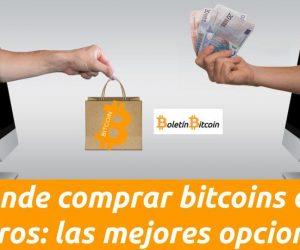 Donde comprar bitcoins con euros