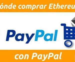 Dónde comprar Ethereum con PayPal