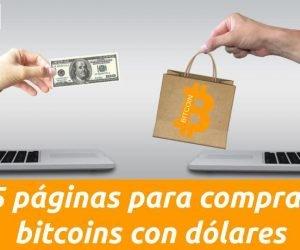 paginas para comprar bitcoins con dolares