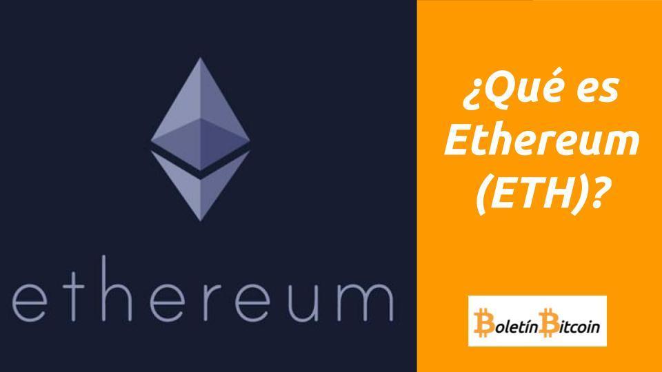 que es ethereum