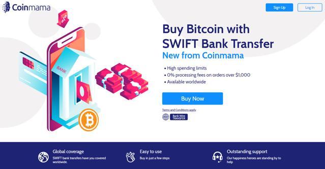comprar litecoin en coinmama con transferencia swift