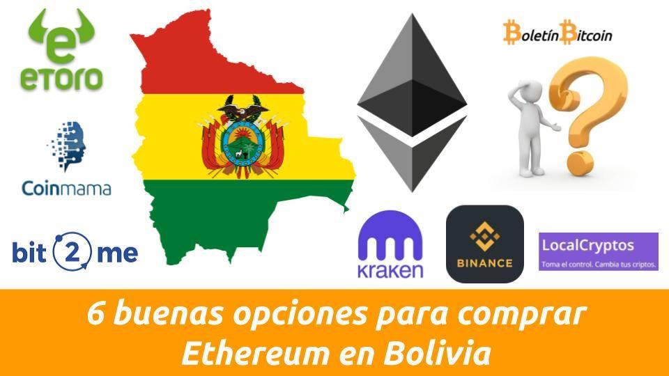como comprar ethereum en bolivia
