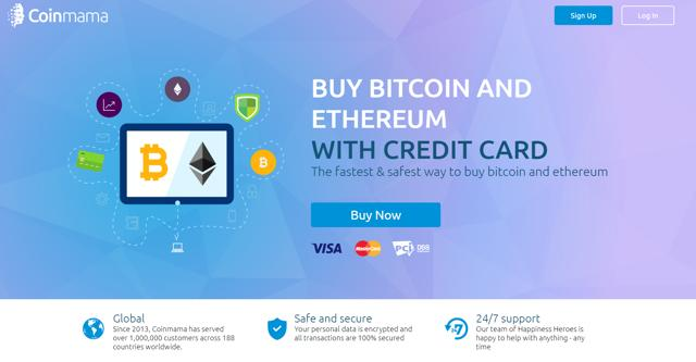 comprar ethereum con tarjeta de crédito en coinmama