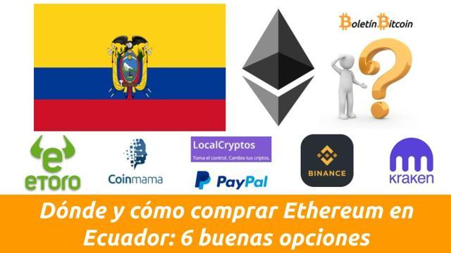 donde comprar ethereum en ecuador